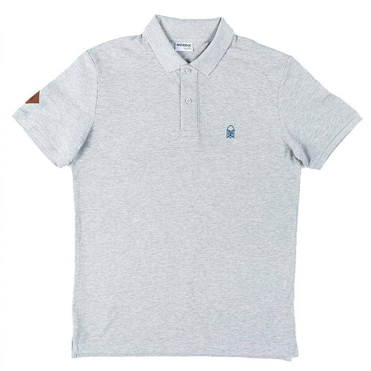 Regular Fit Polo Odin Grey