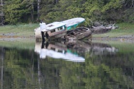 Peaceful Resting Place in Vixen Harbor; Photo by Larry Rogers