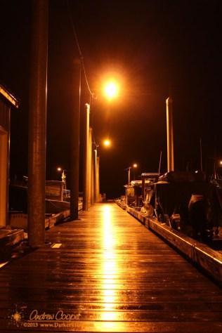 Rainy Docks