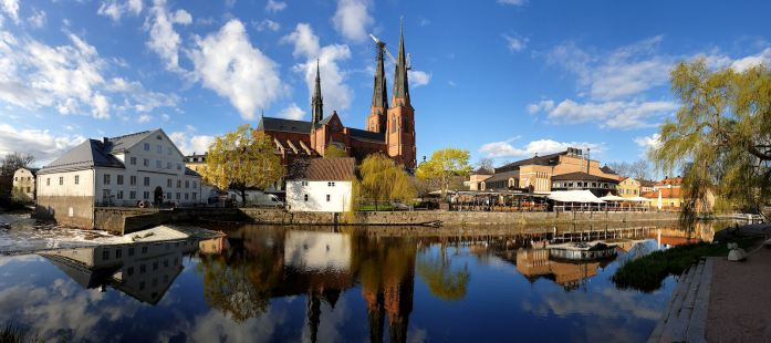 Centre of Uppsala (Photo by Marcel Burger)