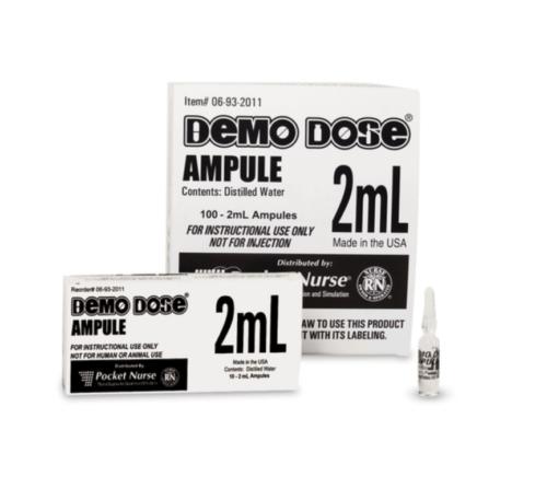 Demo Dose® ampulli kirkas 2 ml