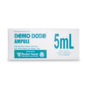 Demo Dose® ampulli kirkas 5 ml