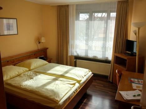 my room at Gasthof zur Post, Munich