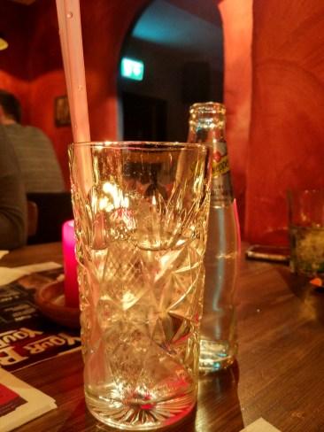 The biggest gin tonic ever at Sausalitos, Passau