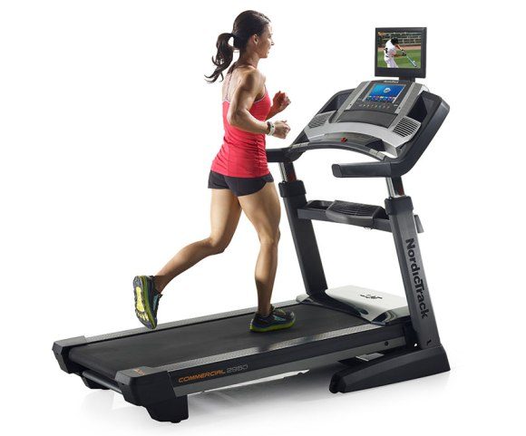 how to burn more calories on a treadmill - woman running