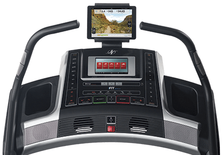 nordictrack x9i incline trainer console