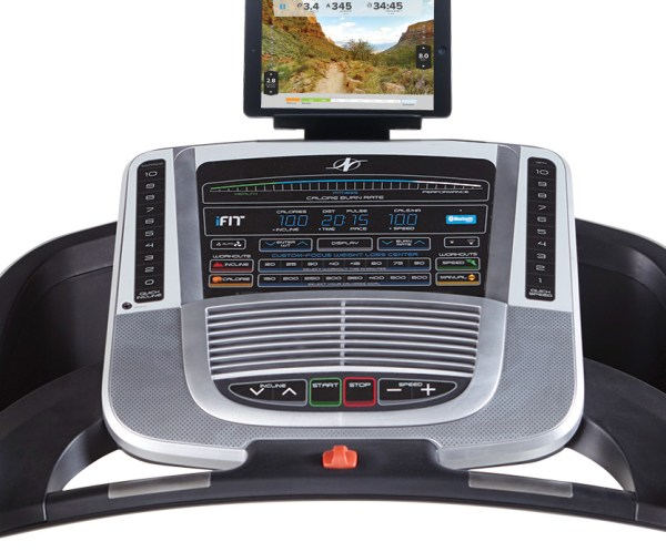 nordictrack C700 Treadmill Console