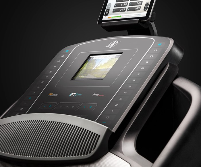 nordictrack commercial 1750 review - console