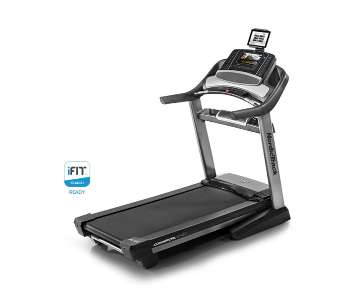 nordictrack commercial 2450 treadmill review
