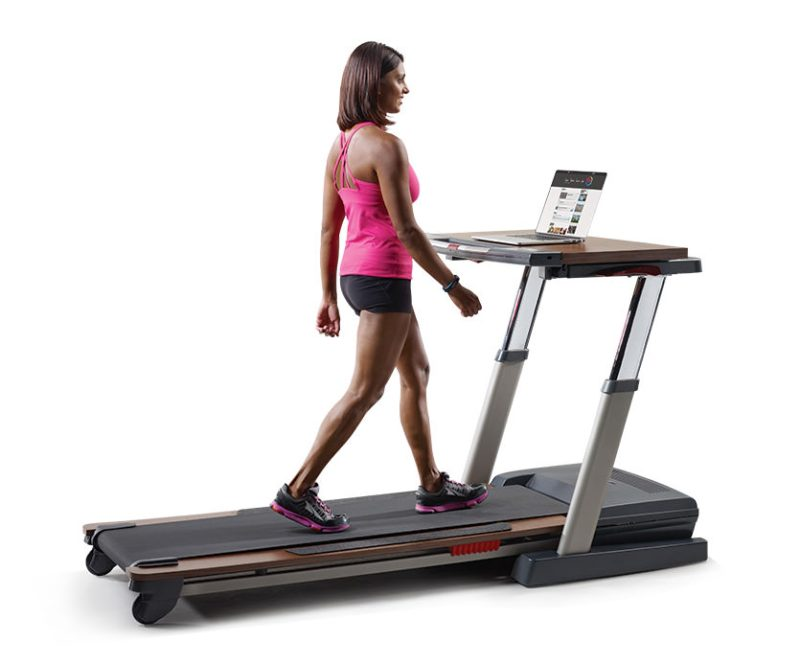 Nordictrack treadmill desk vs platinum comparison