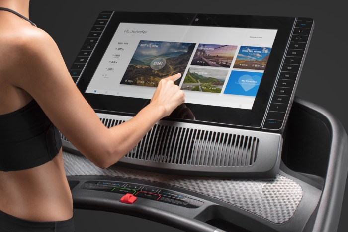 nordictrack ifit coach treadmill