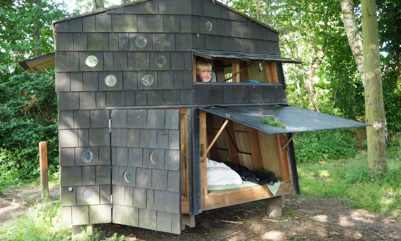 Going camping with your kids in Denmark - try booking a shelter