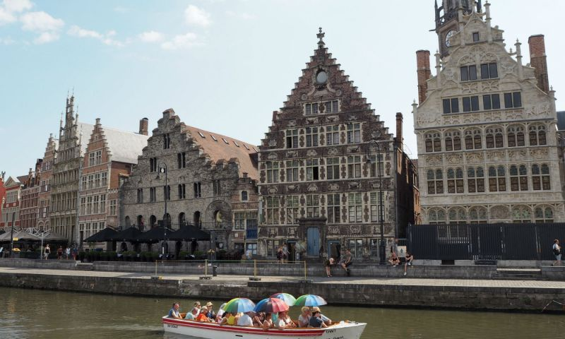 Graselei in Ghent, Belgium | Ghent travel | Ghent Belgium | Ghent itinerary | Things to do in Ghent |