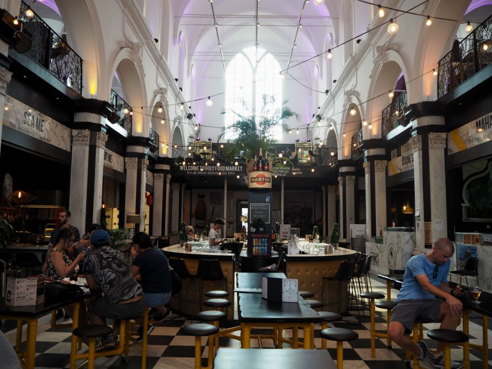 The Holy Food Market in Ghent