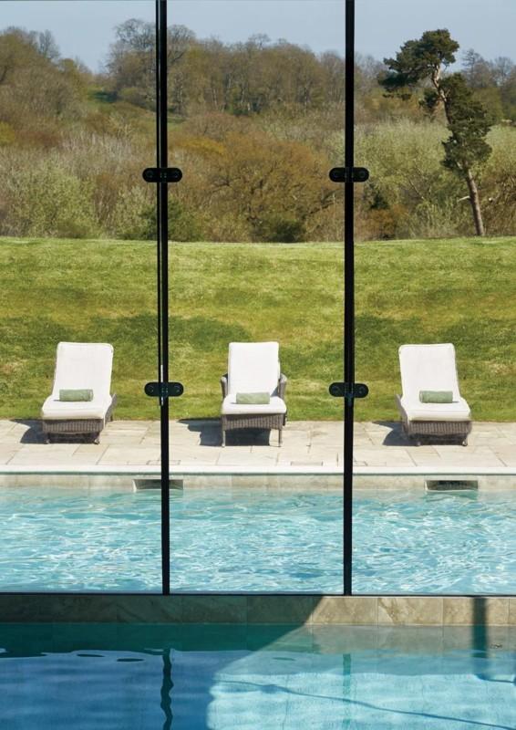Pool at Ockenden Manor