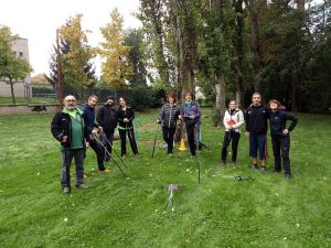 Curs d'instructors de marxa nòrdica INWA. La Seu dUrgell. Classe pràctica