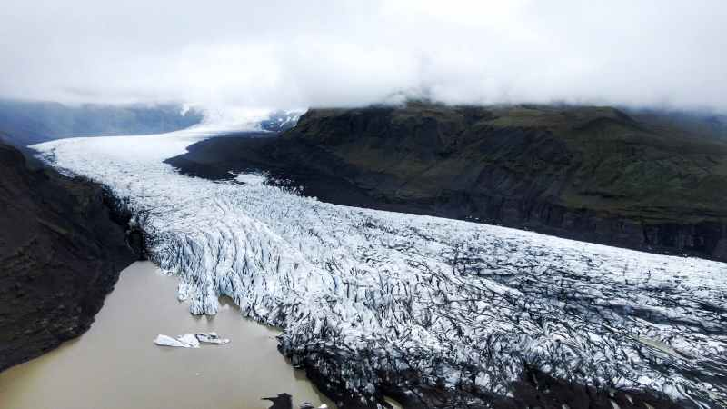 cold glacier iceberg iceland