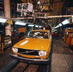 Historie: Volvo Produktion in Torslanda.