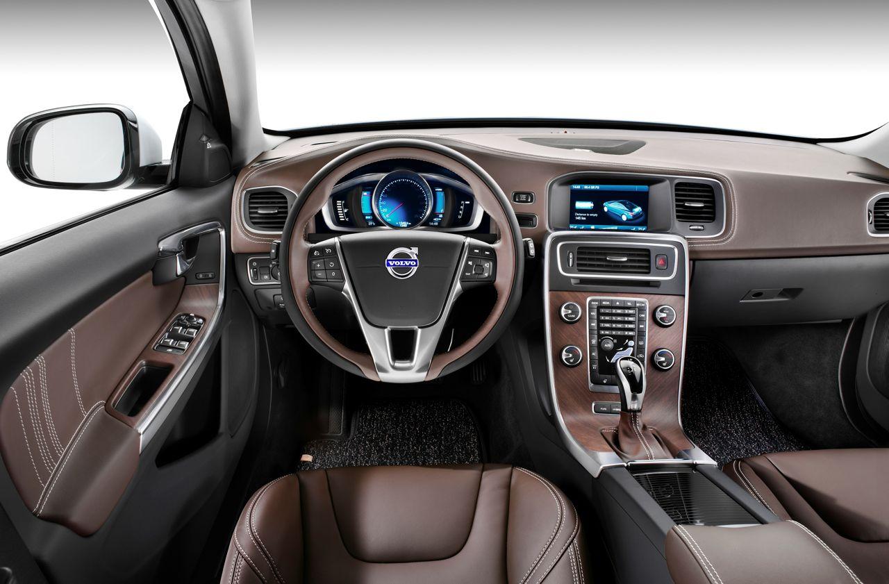 Volvo S60L Plug-in-Hybrid Concept Interieur Bilder - nordicwheels