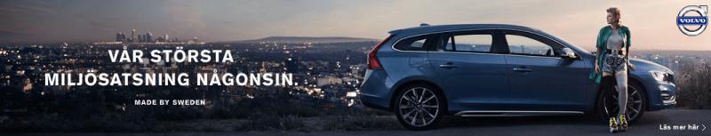 Made by Sweden Kampagne von Volvo