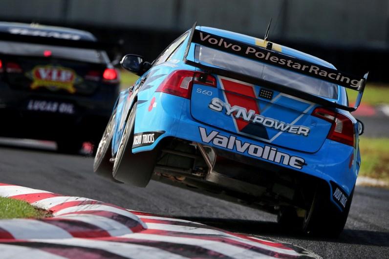 V8 Supercar Rennen in Pukekohe, Auckland