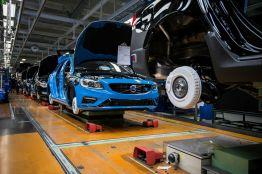 Polestar S60 und V60 Produktionsstart im Werk Torslanda