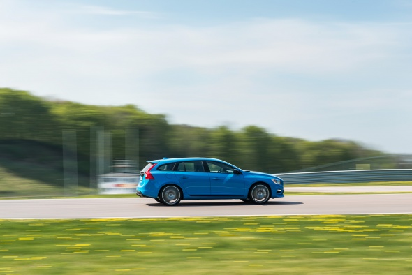 Volvo V60 Polestar in Goodwood
