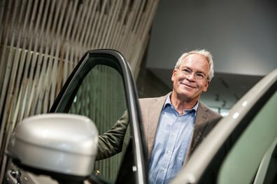 Rolf Vrolijk und der neue Volvo XC90