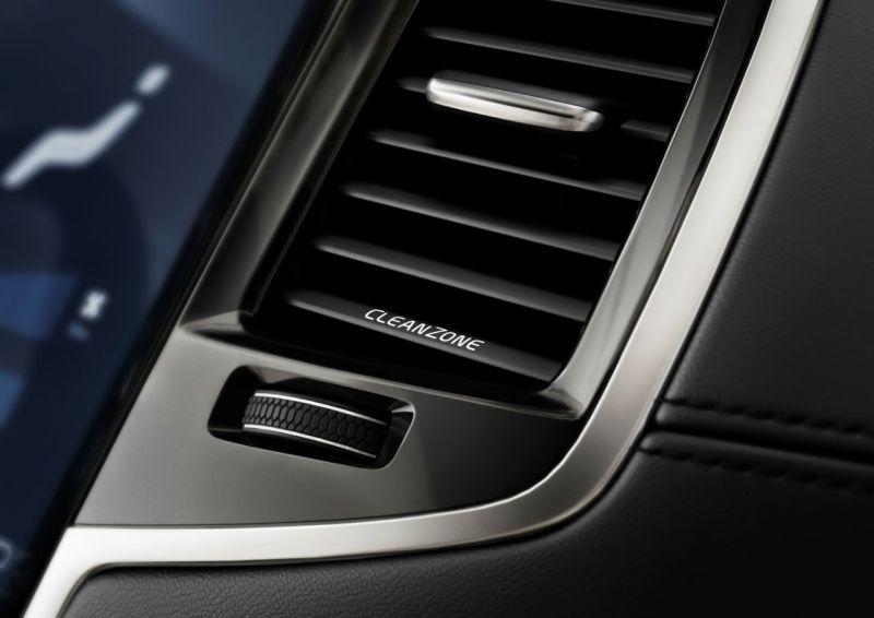 Volvo XC90 Cleanzone Bild: Volvo Cars