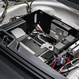 Volvo V70 Polizeifahrzeug, Interieur. Bild: Volvo Cars Deutschland