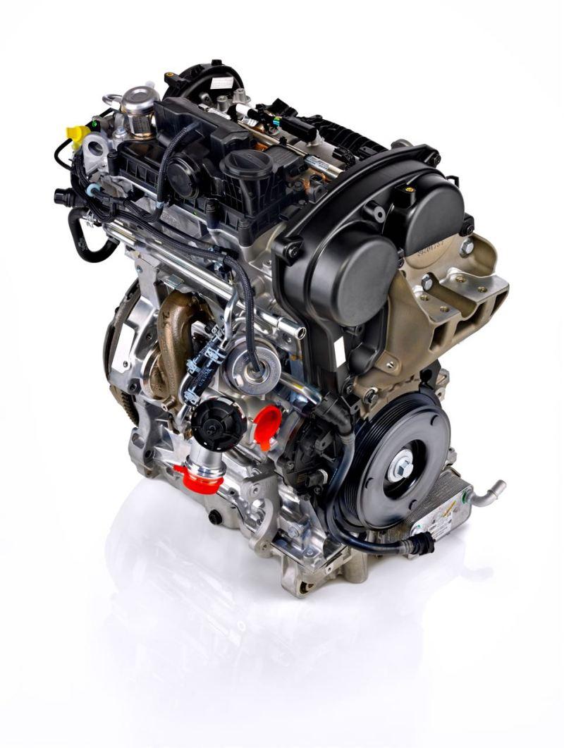 Neue Volvo Dreizylinder Motor. Bild: Volvo Cars
