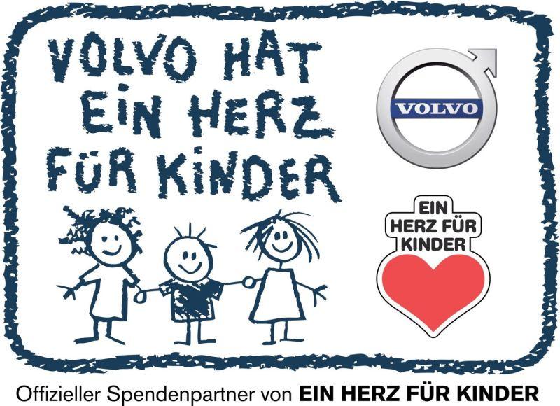 Volvo hat ein Herz fuer Kinder. Bild: Volvo Cars