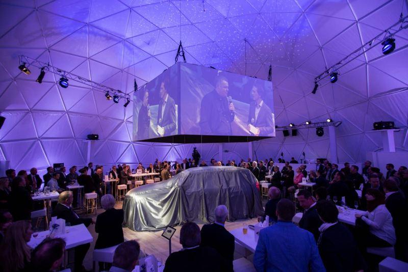 Volvo XC90 Publikumspremiere in Wien. Bild: Volvo Cars