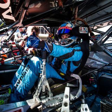 2015 V8 Supercar Championship Round 1. Clipsal 500, Adelaide, Australia. Sunday 1st March 2015. Scott McLaughlin driver of the #33 Wilson Security Racing GRM Volvo World Copyright: Volvo Polestar Racing