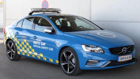 Volvo S60 T6 R Design. Safety Car. Bild: Volvo Austria