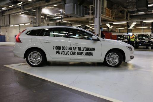 7 000 000: Volvo aus Torslanda. Bild: Volvo Cars