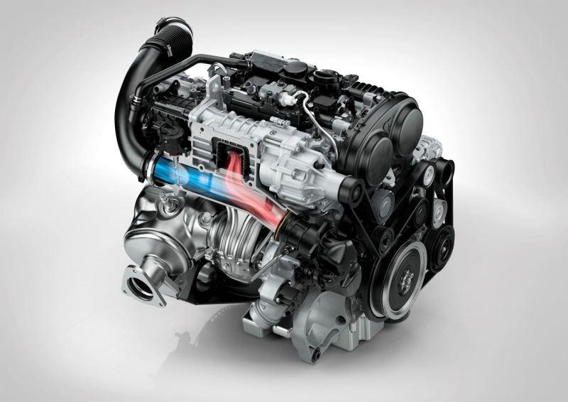 Volvo Drive E Motor. Bild: Volvo Cars