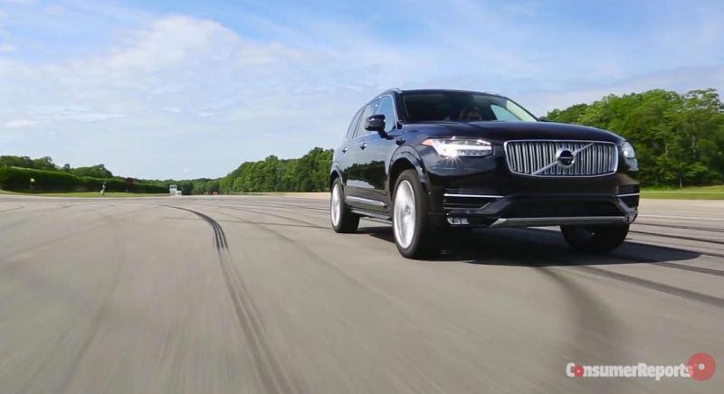 Consumer Reports und der neue Volvo XC90