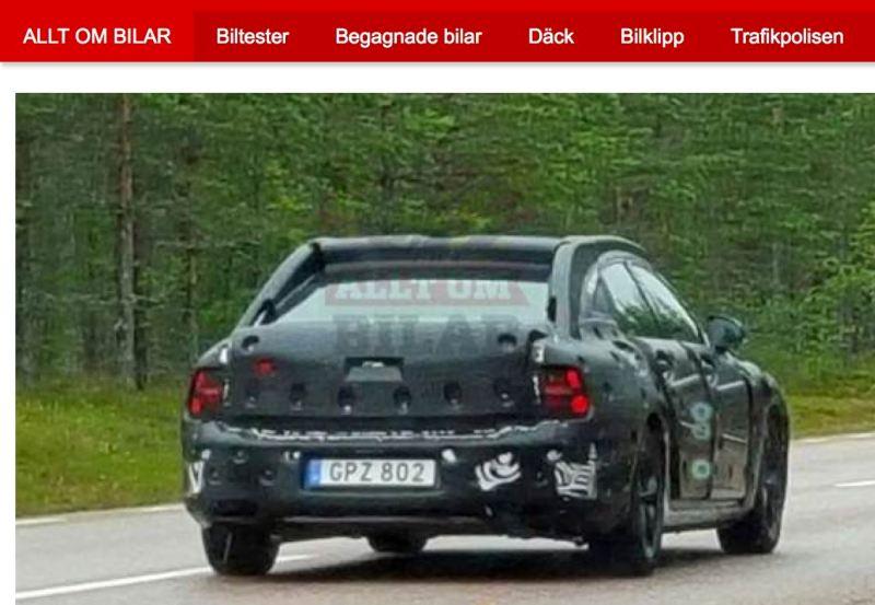 Volvo S90. Fließheck oder Stufenheck?