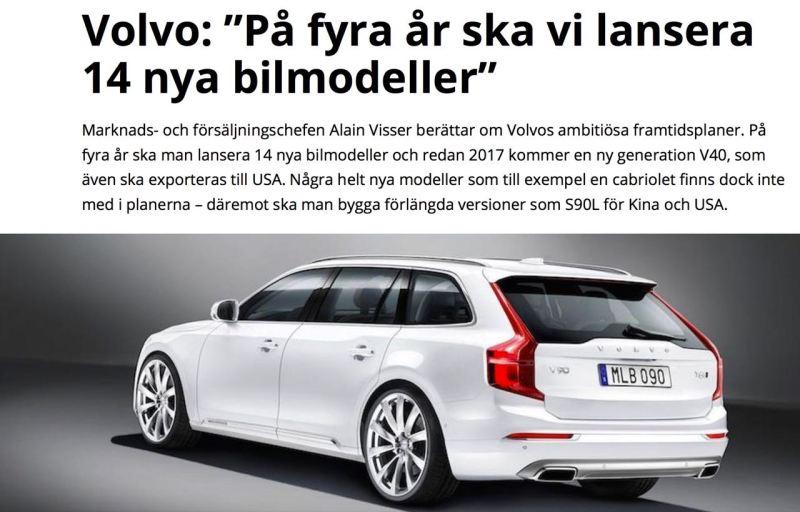 Volvo V90 - wie ihn die schwedische Auto Motor Sport sieht