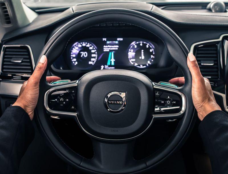 IntelliSafe Auto Pilot interface. Bild: Volvo PV