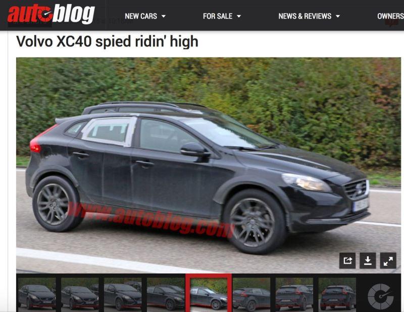 Volvo CMA Plattform. Foto Credit Autoblog.