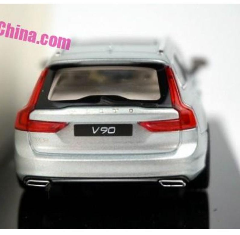 Volvo V90 Liquid Blue. Photo Credit: CarNewsChina.com