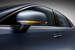 Detail Door Mirror Volvo S90 Mussel Blue