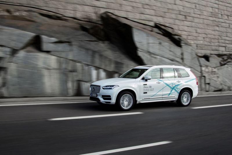 Volvo XC90 Drive Me Testfahrzeug