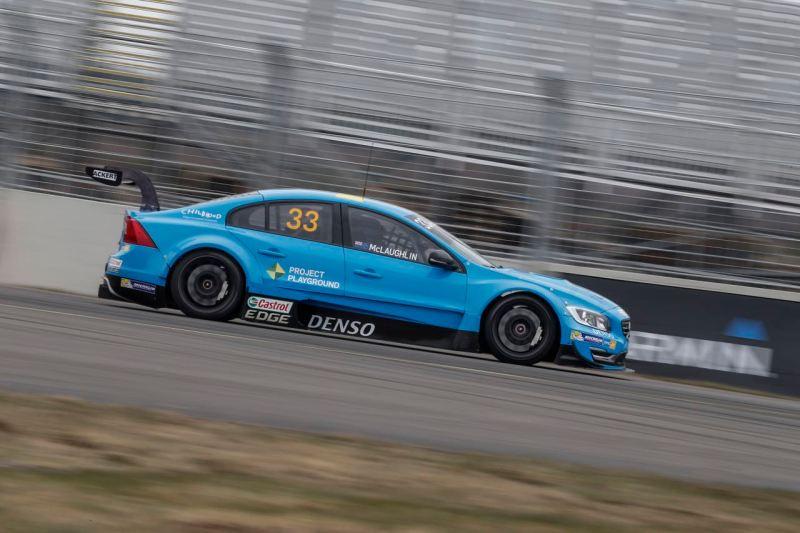 Polestar Cyan Racing STCC Skövde