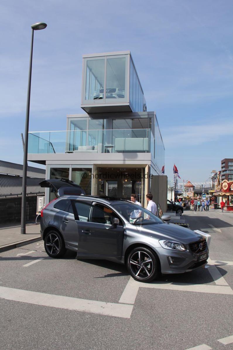 Mobiles Volvo Forum, Hafengeburtstag Hamburg.