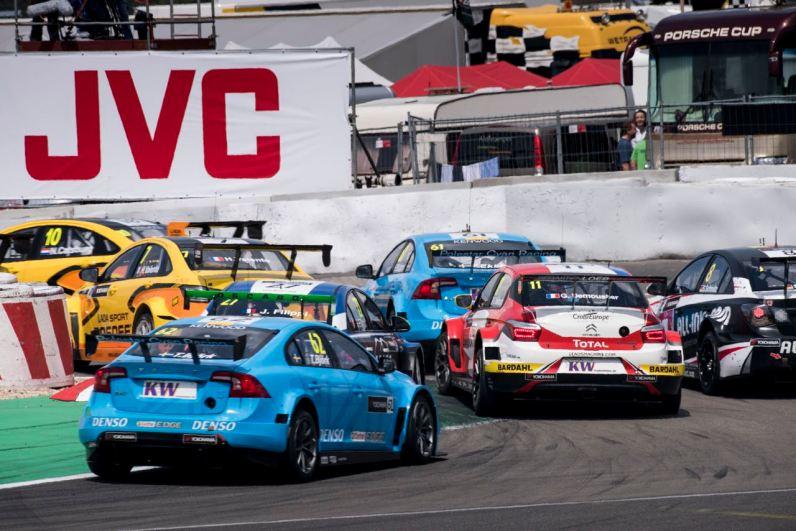 WTCC Nuerburgring 2016 Bild: Cyan Polestar Racing.