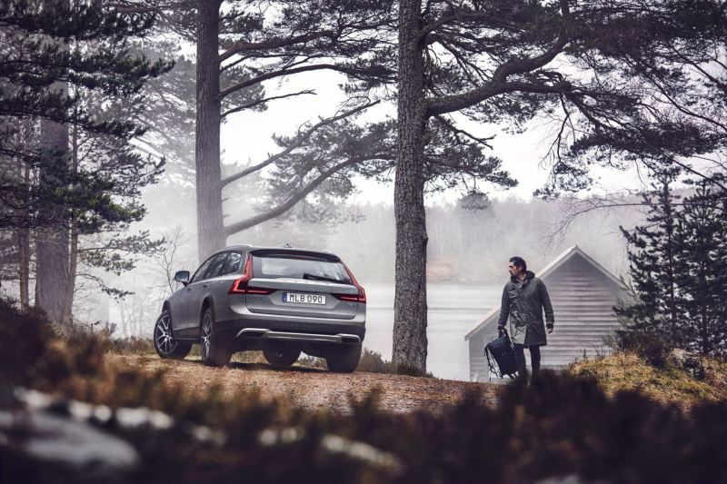 New Volvo V90 Cross Country Driving. Bild: Volvo Cars