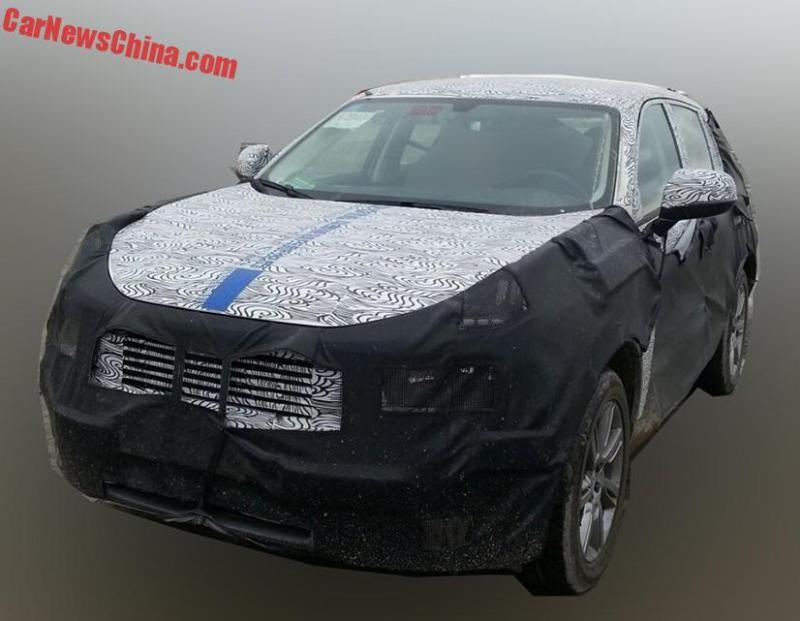LYNK & Co. SUV CX11. Foto Credit: Car News China.